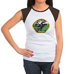 Sleepy Hollow Police Women's Cap Sleeve T-Shirt