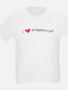 Ragdoll - MyPetDoodles.com Kids T-Shirt