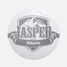 Jasper Alberta Ski Resort 5 Ornament (Round)