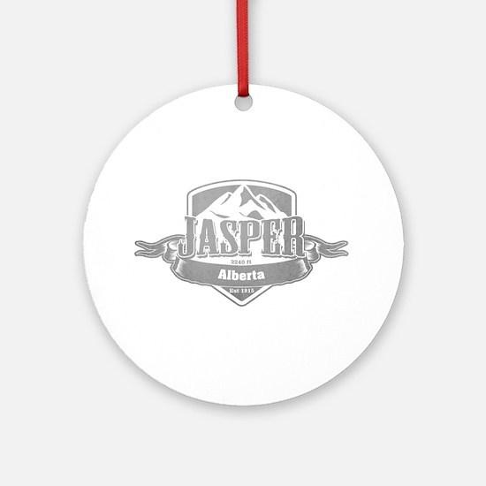 Jasper Alberta Ski Resort 5 Ornament (Round)