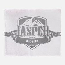 Jasper Alberta Ski Resort 5 Throw Blanket