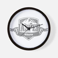 Jasper Alberta Ski Resort 5 Wall Clock