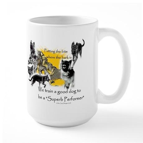"""No Crap """"ULTIMATE"""" Designs. Large Mug"""
