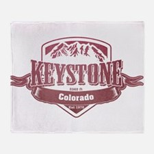 Keystone Colorado Ski Resort 2 Throw Blanket