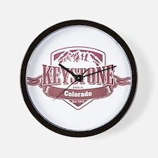 Keystone Colorado Ski Resort 2 Wall Clock