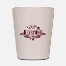 Keystone Colorado Ski Resort 2 Shot Glass