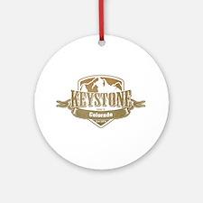 Keystone Colorado Ski Resort 4 Ornament (Round)