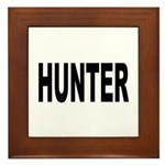 Hunter Framed Tile