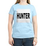 Hunter (Front) Women's Pink T-Shirt