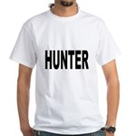 Hunter (Front) White T-Shirt