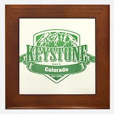 Keystone Colorado Ski Resort 3 Framed Tile