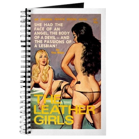 """Pulp Journal - """"The Leather Girls"""""""