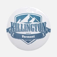 Killington Vermont Ski Resort 1 Ornament (Round)