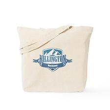 Killington Vermont Ski Resort 1 Tote Bag