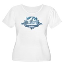 Killington Vermont Ski Resort 1 Plus Size T-Shirt