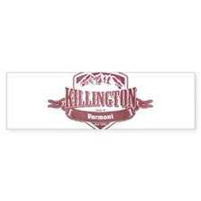 Killington Vermont Ski Resort 2 Bumper Bumper Sticker