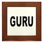 Guru Framed Tile