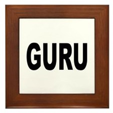 Guru Framed Tile