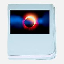 Solar Eclipse baby blanket