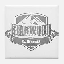 Kirkwood California Ski Resort Tile Coaster
