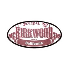 Kirkwood California Ski Resort Patches
