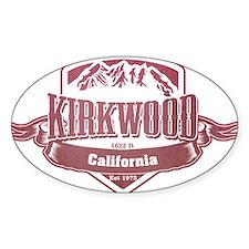 Kirkwood California Ski Resort Decal