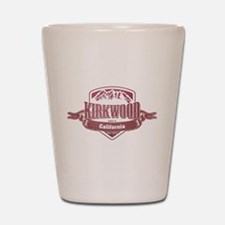 Kirkwood California Ski Resort Shot Glass