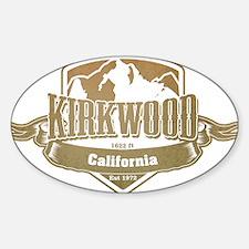 Kirkwood California Ski Resort 4 Decal