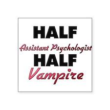 Half Assistant Psychologist Half Vampire Sticker