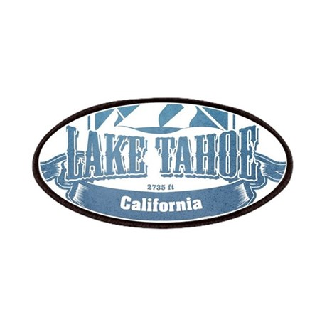 Lake Tahoe California Ski Resort 1 Patches