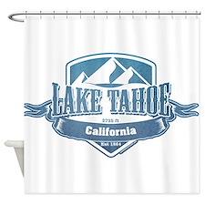 Lake Tahoe California Ski Resort 1 Shower Curtain