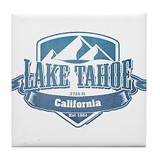Lake Tahoe California Ski Resort 1 Tile Coaster
