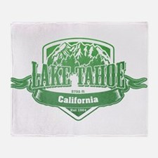 Lake Tahoe California Ski Resort 3 Throw Blanket