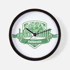 Lake Tahoe California Ski Resort 3 Wall Clock