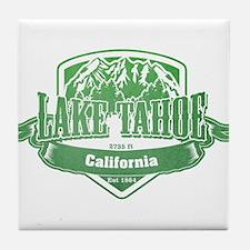 Lake Tahoe California Ski Resort 3 Tile Coaster