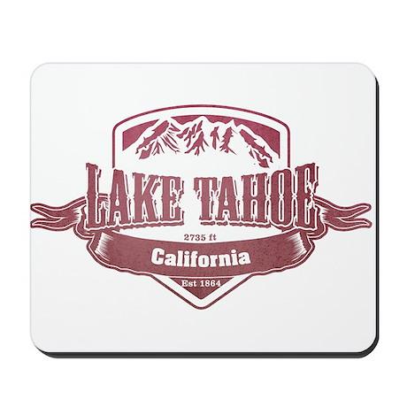 Lake Tahoe California Ski Resort 2 Mousepad