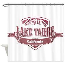 Lake Tahoe California Ski Resort 2 Shower Curtain