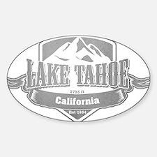 Lake Tahoe California Ski Resort 5 Decal