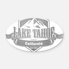 Lake Tahoe California Ski Resort 5 Oval Car Magnet