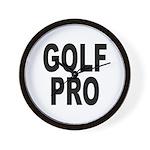 Golf Pro Wall Clock