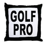 Golf Pro Throw Pillow