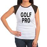Golf Pro (Front) Women's Cap Sleeve T-Shirt