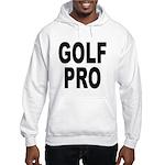 Golf Pro (Front) Hooded Sweatshirt