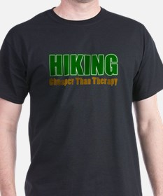 Hiking Cheaper Than Therapy T-Shirt