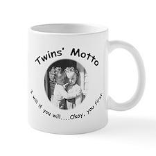 Twins' Motto Apparel Mug