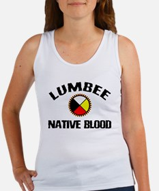 Lumbee Native Blood Women's Tank Top