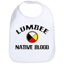 Lumbee Native Blood Bib