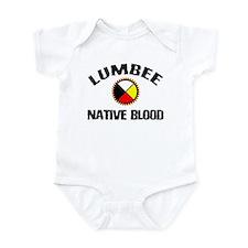 Lumbee Native Blood Infant Bodysuit
