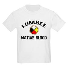 Lumbee Native Blood Kids T-Shirt