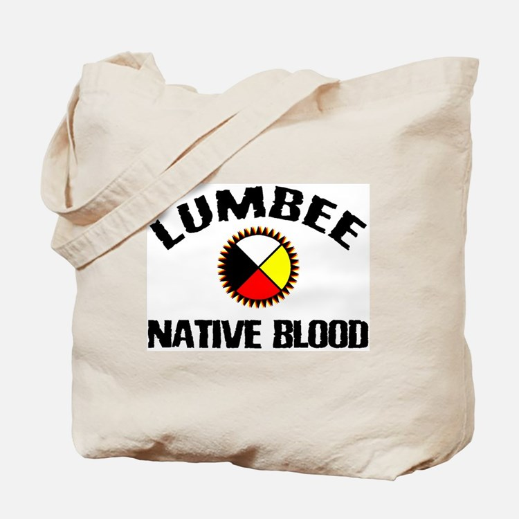 Lumbee Native Blood Tote Bag
